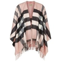 Burberry Shoes & Accessories House Check Wool-Cashmere Cape