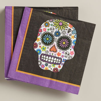 Day of the Dead Beverage Napkins, 20-Count - World Market