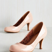 Pastel Gloss In Thought Heel in Blush
