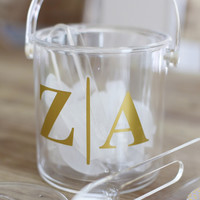 Personalized Acrylic Ice Bucket