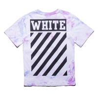 Off White Summer 16 Tie Dye Shirt