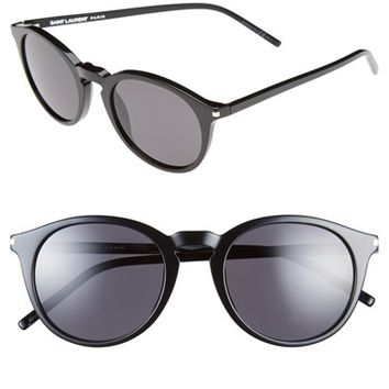Women's Saint Laurent 49mm Retro Sunglasses