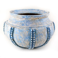 Lovistyle Blue Wash Royalty Planter