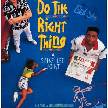 Do the Right Thing Spike Lee Movie Poster 12x18