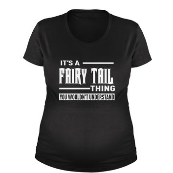 It's A Fairy Tail Thing  Maternity Pregnancy Scoop Neck T-Shirt