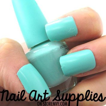 nailartsupplies | Mint Green Matte Nail from ...