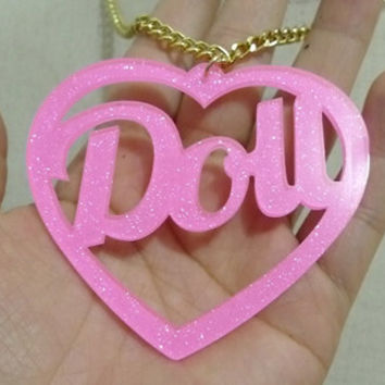 Doll heart Necklace