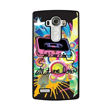 all time low retro cassete lg g4 case cover  number 1