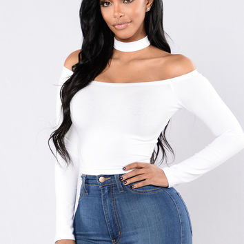 Bare It All Top - Off White