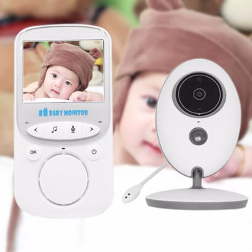 Video Baby Monitor LCD Display Camera Two Way Talk Mini Camera back Caregiver Child Care Device Wireless Babysitters