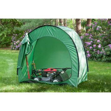 Outdoor Tool and Supply Storage Tent