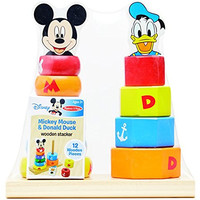 Disney Baby Mickey Mouse and Donald Duck Wooden Stacker