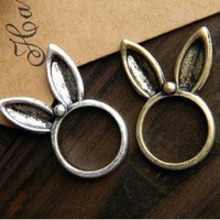1PCS Lovely Long Ear Rabbit Animal Cute Ring Fashion design new arrival