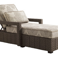 Olive Chaise Lounge, Taupe, Outdoor Chaise Longues