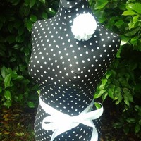 Polka dot Boutique Dress form display full size $63 in Terrell, TX | $63