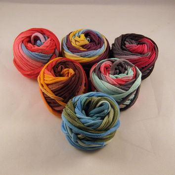 Multicolored Small Yarn Ball Grab Bag Sampler