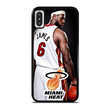 LEBRON JAMES iPhone X Case Cover