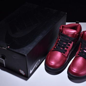 Nike Air Force 1 DUNK LUX CHUKKA/RT WINE RED