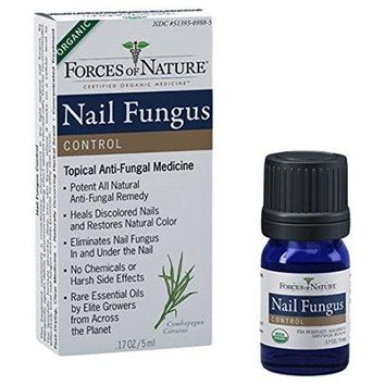 Forces Of Nature Nail, Fungus Control, Organic - 5 Ml