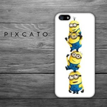 Despicable Me Minions - Iphone 5 Case - 3D Iphone Case - Hard Plastic Case