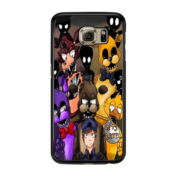 Five Nights At Freddys Fnaf And Friends Samsung Galaxy S6 Edge Case