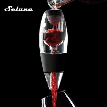 Acrylic Wine Aerator Quick Aerating Red Wine Whiskey Magic Decanter Bottle Pourer Diffuser Filter Hopper Set Spout Mini Bar tool