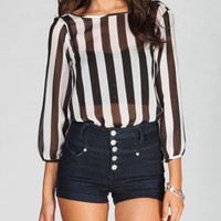 LIVE 4 TRUTH Stripes Womens Bow Back Top 224410125 | Blouses & Shirts | Tillys.com