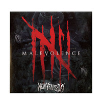 New Years Day - Malevolence Vinyl LP Hot Topic Exclusive