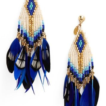Gas Bijoux Huichol Plume Earrings | Nordstrom