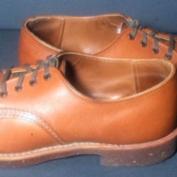Red Wing® 8052 Foreman Brick Settler Brown Leather Work boots Men's Size 9.5