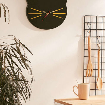 Cat Clock - Urban Outfitters
