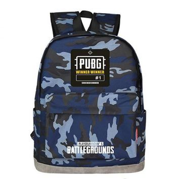 2018 PUBG Playerunknown's Battlegrounds Level1-3 Instructor Backpack Multicolor Multi-functional Backpack winner chicken dinner