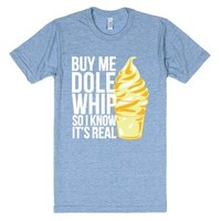 Dole-Unisex Athletic Blue T-Shirt