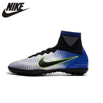 Nike MERCURIALX TF11 Football Soccer Men New Fg High Ankle Indoor Soccer Cleats Turf Superfly Futbol Shoes 903614-601 39-45
