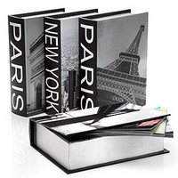 New York & Paris Destination Boxes - Set of 4 | Boxes | Decorative Accessories | Accessories | Decor | Z Gallerie
