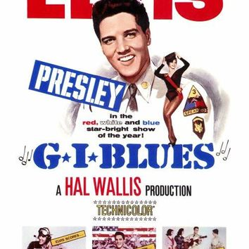 G.I. Blues 27x40 Movie Poster (1960)
