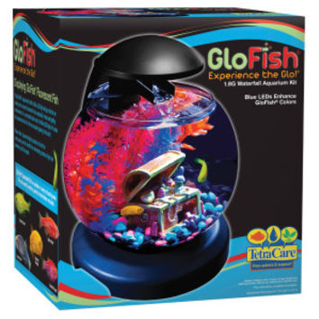 GloFish 1.8 Gallon Waterfall Aquarium Kit | Aquariums | PetSmart