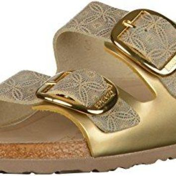 Birkenstock Arizona Big Buckle Leather Silkroad - The Shoe for Women, Made from Real Leather with a Sole Made from EVA.