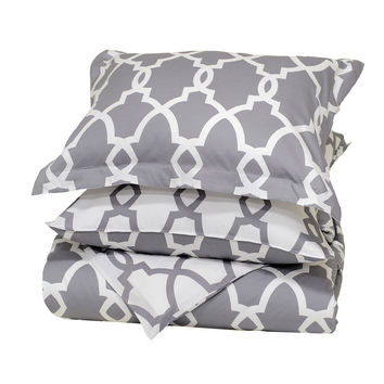 Metro Terrace Grey Bedding by Villa Home