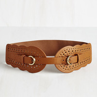 Whatever Floats Your Haute Belt in Cognac by ModCloth