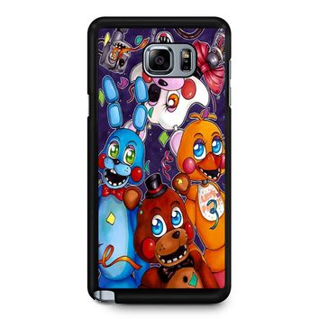Five Nights At Freddy S Poster Samsung Galaxy Note 5 Case