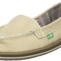 Sanuk Women's Shorty Sidewalk Surfer Skimmer Shoe