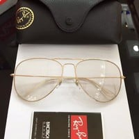 Ray Ban Sunglasses RB3025 Discolored Glass Lens Sunglasses