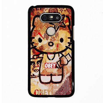 OBEY HELLO KITTY LG G5 Case Cover
