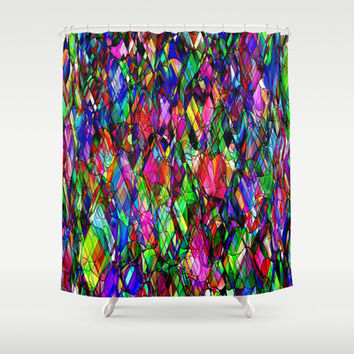 Dragons by Tim Henderson Shower Curtain by WhatisArt