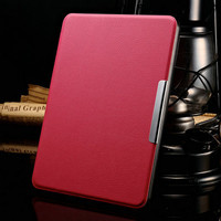Magnet Cover For Amazon Kindle Paperwhite Case 6'' Ereader Fashion PU Leather Case for Kindle Paperwhite Cover E-book Cover Case