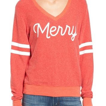 Wildfox Baggy Beach Jumper - Merry Pullover   Nordstrom