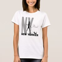 Proud New Yorker funny one-of-a-kind T-Shirt