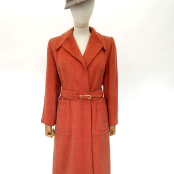 VINTAGE 1940s CHERRY MODELS COAT 6 8