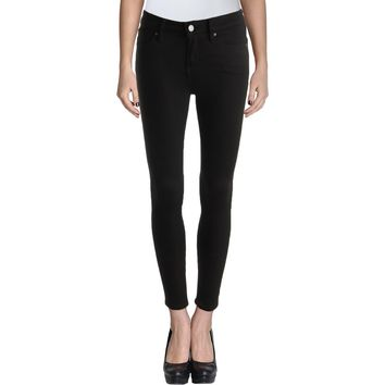 Armani Exchange Womens Denim Signature Skinny Jeans